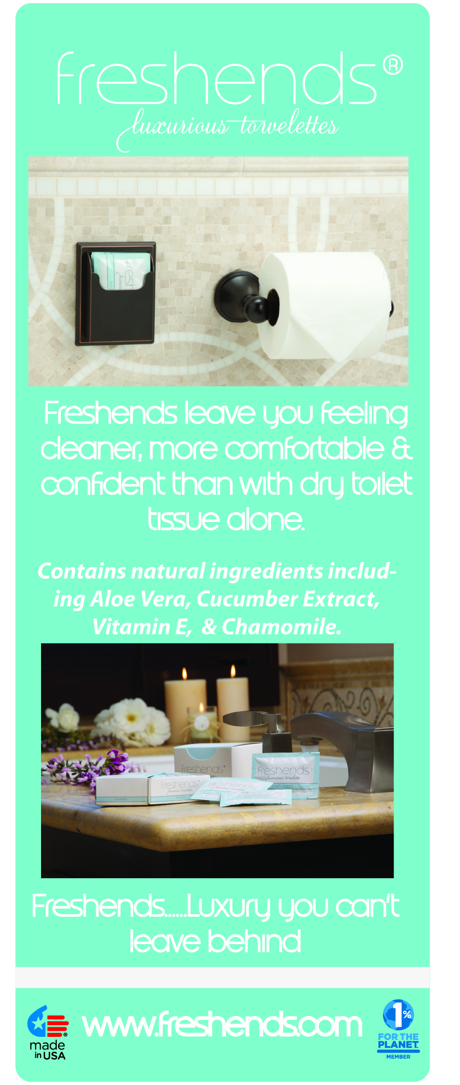 Freshends Luxurious Towelettes