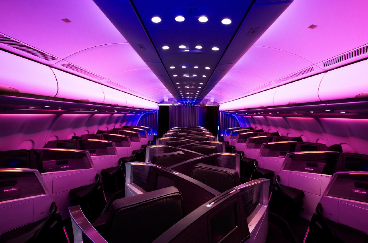 Virgin Atlantic Airline 118