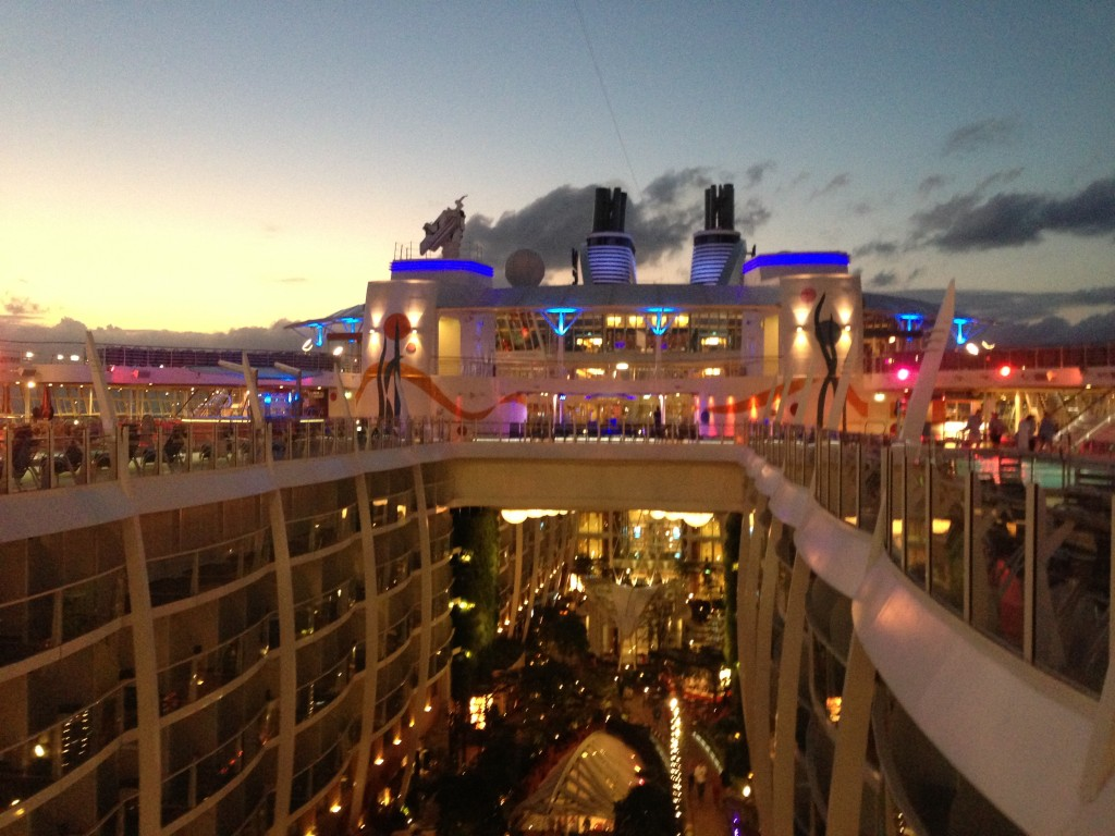 Allure of the Seas Night Cruise Top