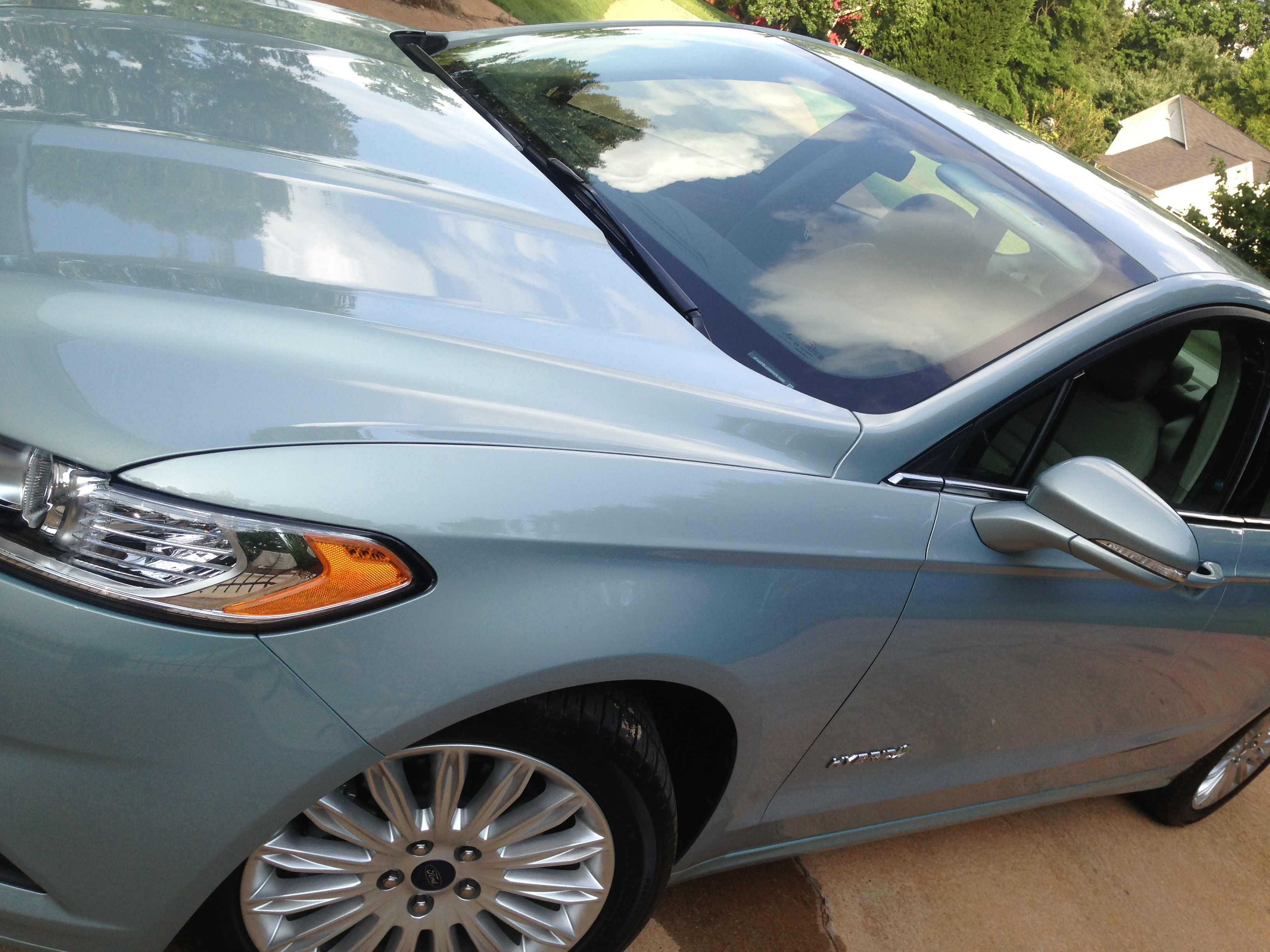 Arriving in Style in a Ford Fusion Hybrid