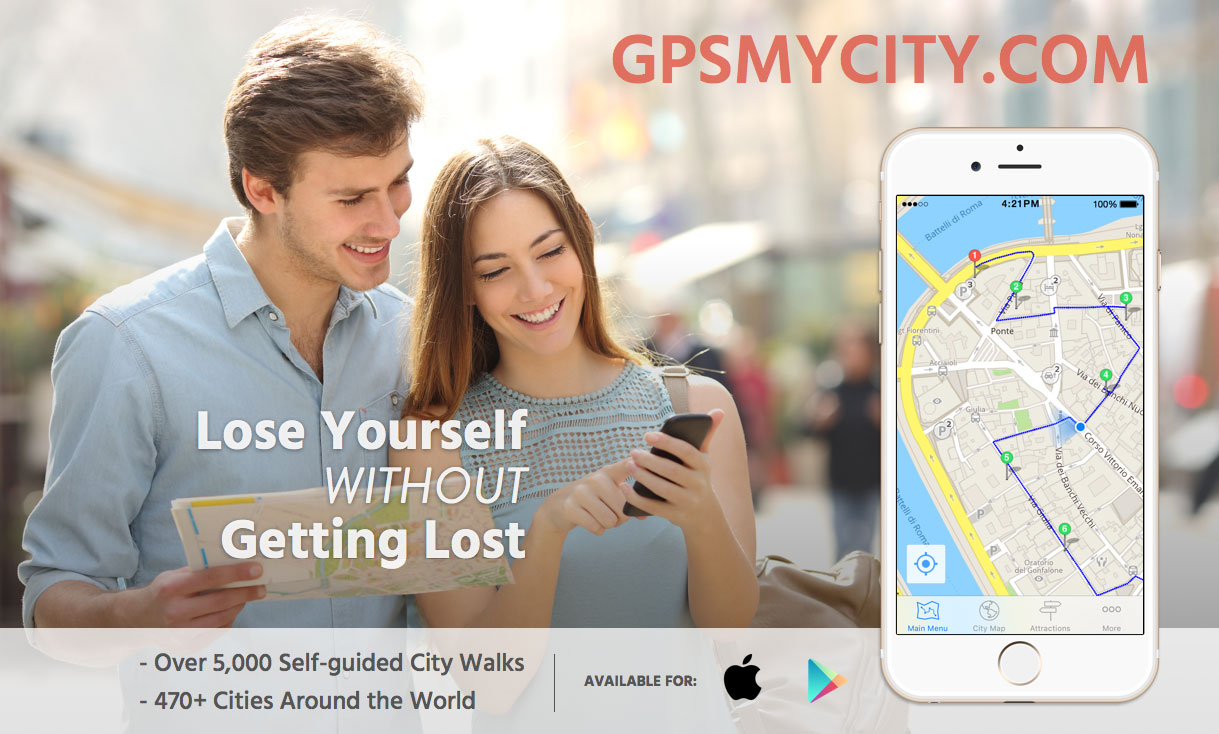 GPS my city app