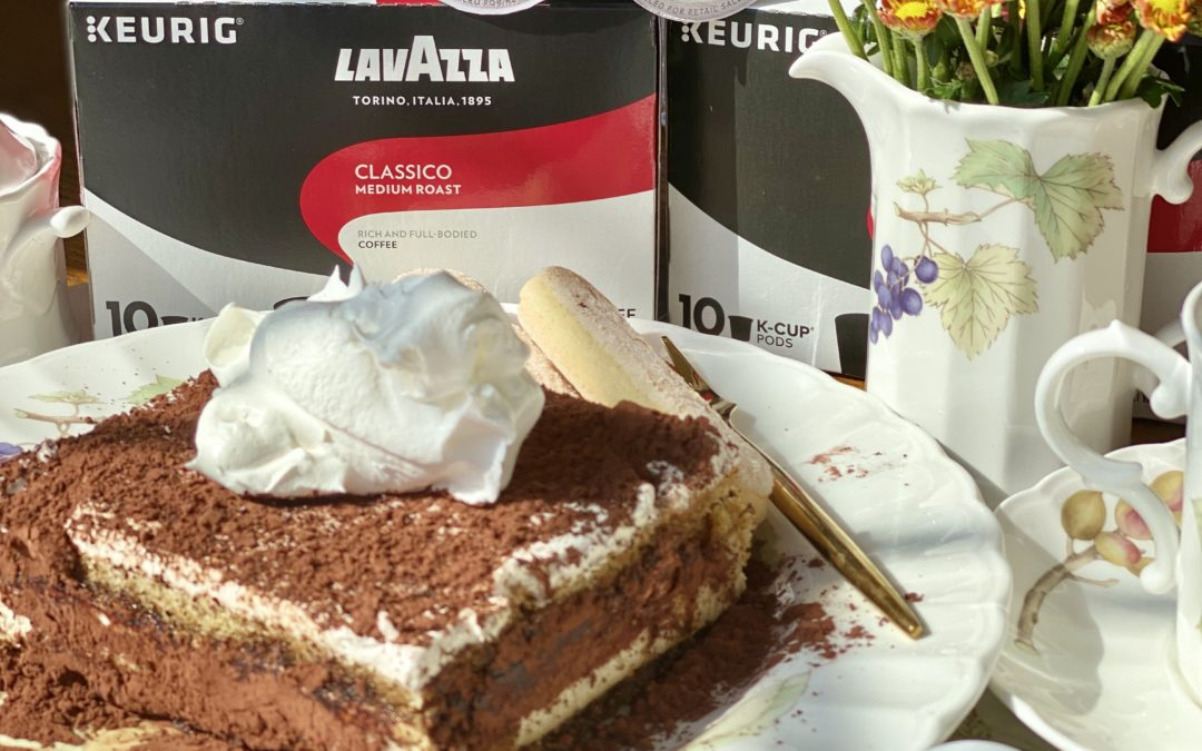 Easy Tiramisu Recipe with Lavazza Keurig® K-Cup® Classico Pods
