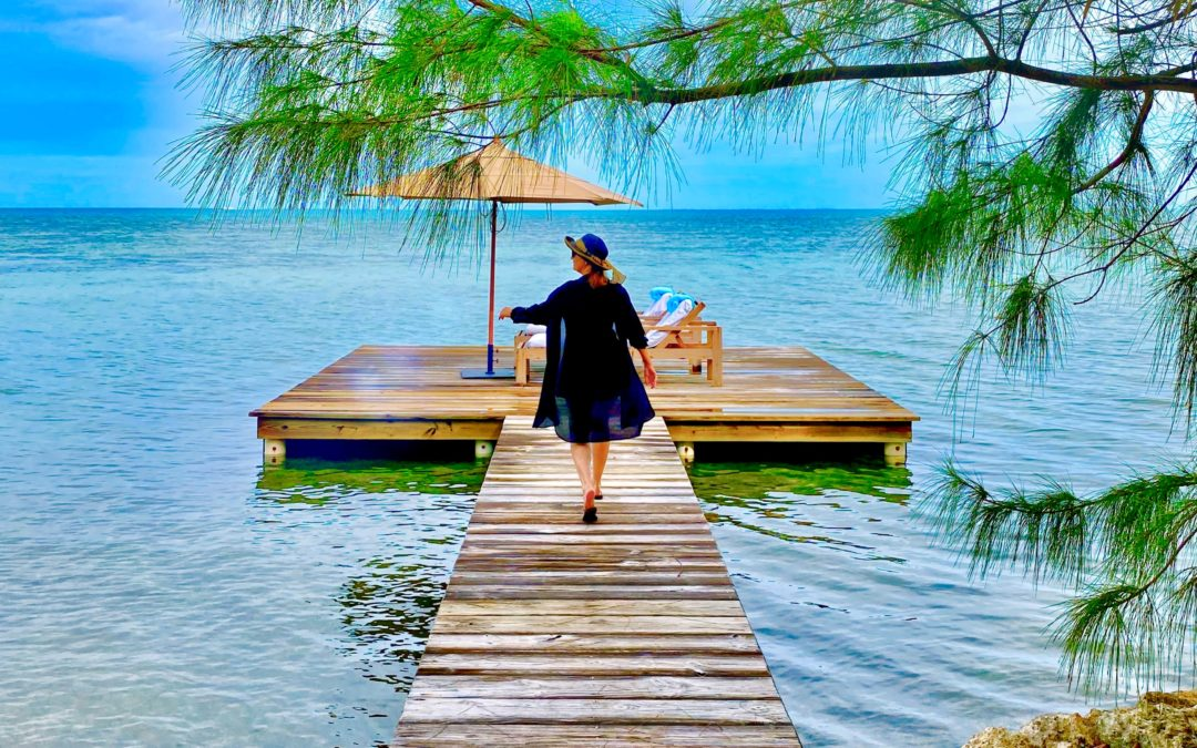 A Private Island – Cayo Espanto – Everyone needs to spend a week somewhere where shoes are not needed or expected.