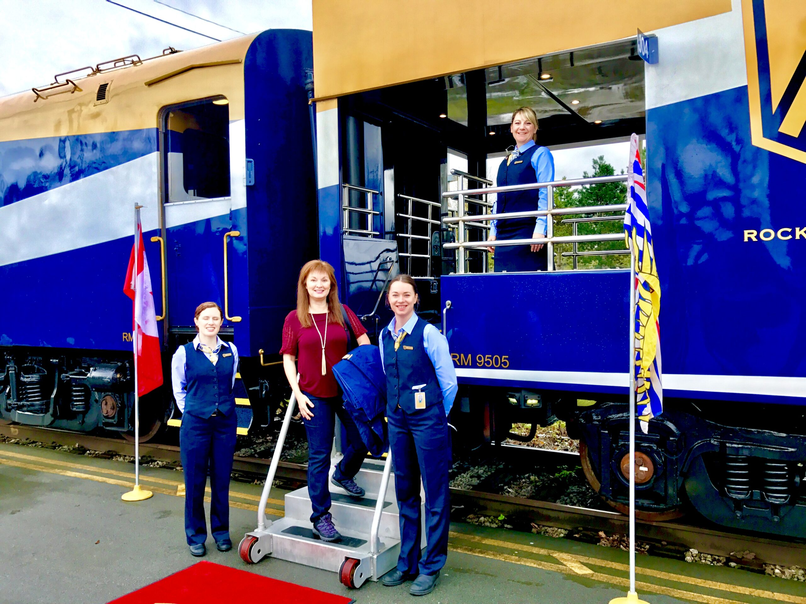 Guess Where Rocky Mountaineer is Now